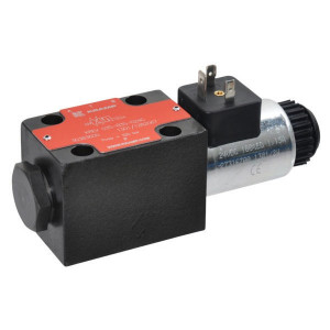 Stuurventiel elektrisch NG6 - KREV03SC3B012C | Elektromagnetisch bediend | Max. 60 l/min | 40,5 mm | 32,5 mm | 12V DC V