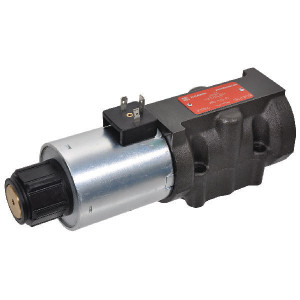Stuurschuif elektrisch NG10 - KREV05B20230A | Max. 120 l/min | 230V AC V