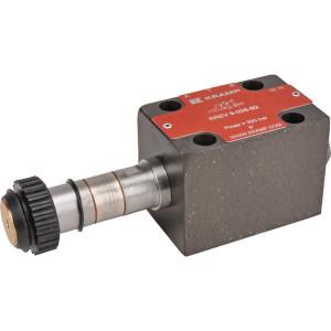 Stuurventiel elektrisch NG6 - KREV903SB2 | Elektromagnetisch bediend | Max. 60l/min | 40,5 mm | 32,5 mm