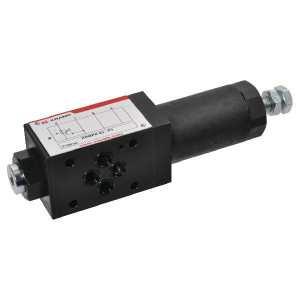Reduceerventiel NG6 - KRMPR03P3 | 3-weg voorgestuurd | Stabiele werking | Geschikt voor tussenbouw | Systeemdruk verlagen | Max. 40 l/min