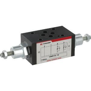 Smoorterugslagventiel NG6 - KRMTI03W | Toevoersmoring | Last controle | Geschikt voor tussenbouw | Max. 50 l/min