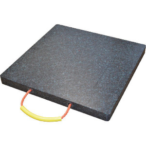 LuxTek Kunststof stempelplaat - KSP40406PE500 | 400 mm | 400 mm