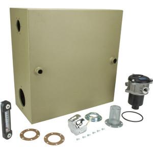 KVT050-tank, 50l, compleet - KVT050MPFTA80LVKIT | 50 l | 494 mm | 234 mm | 494 mm | 3/4 BSP