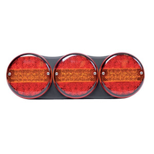 Britax LED-Achterlicht 24V links,- rechts - L14100L24V   Links / rechts   500 mm   424 mm