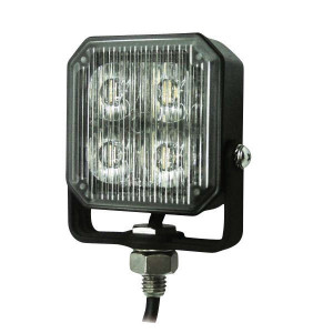 Britax LED-waarschuwingslamp, geel - L7300LDV | Opbouw | 12/24 V | 73 x 73 x 29 mm
