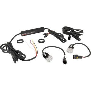 Britax Afdekbare 2 LED + regelaar - L9400LDV | 9-32 V | 26.4 x 25.9 mm