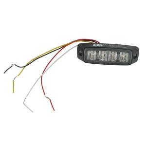 Britax LED-4-weg-waarschuwingsmodule - L9600LDV | 12/24 V | 99 x 31 x 16 mm