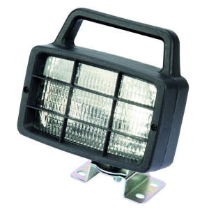Ajba Werklamp rechthoekig + schakelaar - LA02000 | 55 W | 160 mm