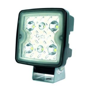 Grote Werklamp LED - Quad 24V / 12V - LA063E21 | 1.200 lm | 12-24 V | Aanbouw | 100 mm | 100 mm