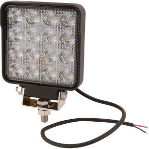 LED Werklamp 25W 3040lm - breedstraler - LA10023   10/30 V   25 W   Breedstraler   108 x 108 x 48 mm   CE/RoHs/ECE R10/ECE R23   0,72 kg   Vierkant   Hulplamp   60 °   Osram 1.5W
