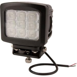 LED Werklamp 90W 8100lm - breedstraler - LA10083   10/30 V   90 W   Breedstraler   Landbouw / universeel   135 x 120 x 124 mm   67/69K   90 °   CREE 10W   2,9 kg   124 mm   EMC/CE/RoHs/ECE R10   Vierkant