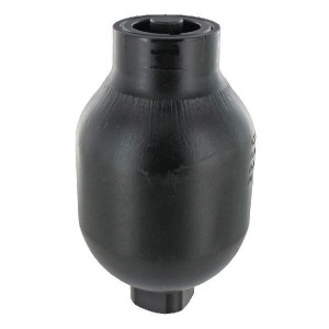 SAIP Accumulator 0.75L-250 - LA1075100   Lange levensduur   Primer   Max. 250 , max. bar   192 mm   118 mm   750 cc   250 bar   M18 x 1,5   100 bar   4,35 kg