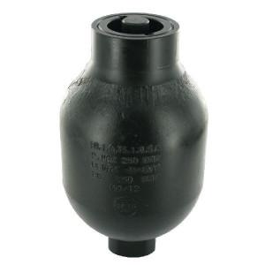 SAIP Accumulator 0.75L-250 - LA1075150   Lange levensduur   Primer   Max. 250 , max. bar   192 mm   118 mm   750 cc   250 bar   M18 x 1,5   150 bar   4,35 kg