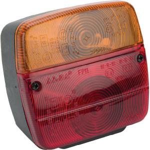 ajba lamp znd nummerbordverlichting la11003 rechts opbouw 108 mm 103 mm ajba