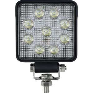 Gopart LED Werklamp 15W 1710lm - breedstraler - LA15032   10/30 V   15 W   Breedstraler   100 x 100 x 40 mm   Vierkant   60 °   Osram 1.5W   0,51 kg
