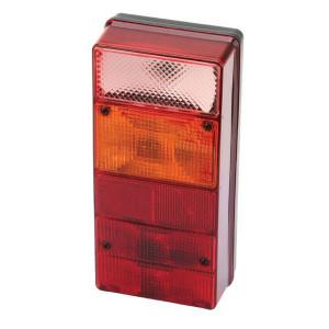 Ajba Achterlicht, 4 functies - LA16014 | rechts | Opbouw | 220 mm | 105 mm | E3 02 52231