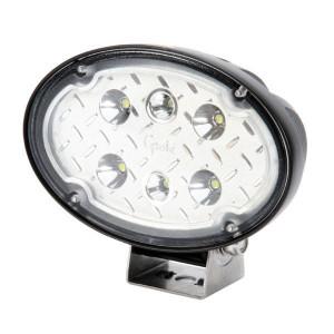 Grote Werklamp Ovaal LED 12/24V - LA163G612 | 12/24 V | 2.600 lm | Bodemverlichting | Aanbouw | 150 mm | Deutsch