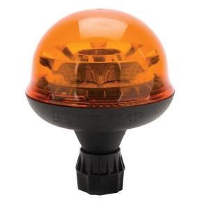 Zwaailamp, LED - LA20001 | DIN-pen | EMC/CE/ECE R65/ECE R10 | 9 W | Amberkleurig | 12/24 V | Flexibele stang | 2,083 Hz