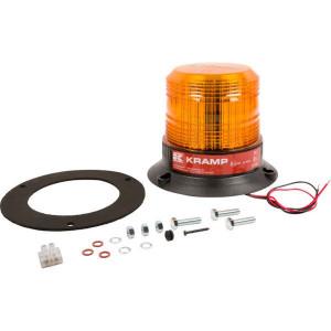 Zwaailamp, LED - LA20003 | EMC/CE/ECE R65/ECE R10 | 121 mm | 27 W | Amberkleurig | 130 mm | 12/24 V | 147 mm
