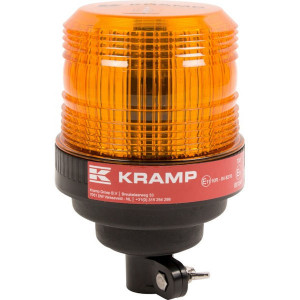 Zwaailamp, LED - LA20005 | 112 mm | EMC/CE/ECE R65/ECE R10 | 168 mm | 27 W | Amberkleurig | 12/24 V | Flexibele stang