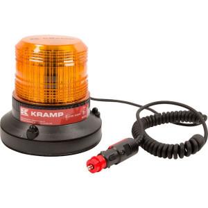 Zwaailamp, LED - LA20006 | 148 mm | EMC/CE/ECE R65/ECE R10 | 141 mm | 27 W | Amberkleurig | Met autostekker | 12/24 V | Magneet