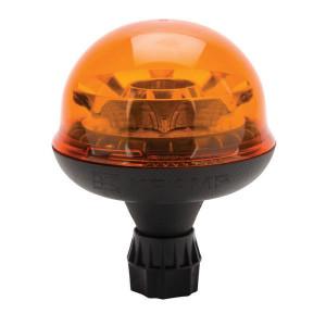 Zwaailamp, LED - LA20015 | 12/24 V | Flexibele stang | 2,083 Hz | EMC/CE/ECE R65/ECE R10 | Amberkleurig | Roteren | 9 W