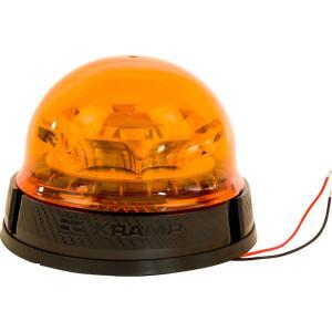 Zwaailamp, LED - LA20016 | 2,083 Hz | Roteren | EMC/CE/ECE R65/ECE R10 | 9 W | Amberkleurig | 12/24 V