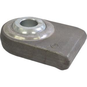 Aanlaskogel vlak 28mm - LA228001KR | Hoogwaardige kwaliteit | 28,4 mm | 135 mm