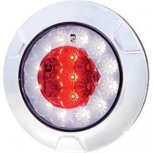 LED mist-/achteruitrijlicht - LA40001 | 0,41 kg | EMC/E20 | Ø135 mm | 200 cm | YLY-S 4 x 0,75mm2 | 12/24 V