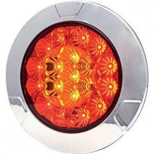 LED achterlicht - LA40003 | 0,45 kg | 135 mm | EMC/E20 | Ø135 mm | 200 cm | YLY-S 4 x 0,75mm2 | 12/24 V