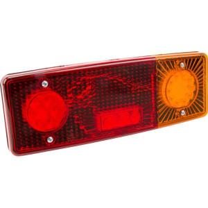 LED achterlicht 5-polig, rechts - LA40018 | 12/24 V | 287.5 x 100.5 x 65 mm | EMC/E20 | YLY-S 4 x 0,75mm2 | 5 pin (TYCO) | 0,489 kg | Rechthoekig