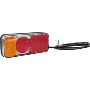 LED achterlicht - LA40029 | 12/24 V | 12/24 V | 0,537 kg | EMC/E20 | 200.5 x 85 x (40.5/61) mm | Rechthoekig | 190 cm