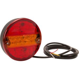 LED achterlicht - LA40037 | 0,495 kg | 142 mm | EMC/E20 | Ø142 x 50 mm | 200 cm