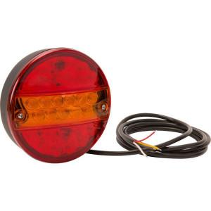 LED achterlicht - LA40039 | 200 cm | 0,495 kg | 142 mm | EMC/E20 | Ø142 x 50 mm