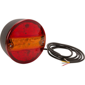 LED achterlicht - LA40043 | 200 cm | 0,607 kg | EMC/E20 | 165 x 155 x 15 mm
