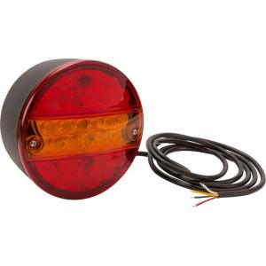 LED achterlicht - LA40045 | 0,607 kg | EMC/E20 | 165 x 155 x 15 mm | 200 cm