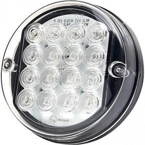 LED achterlicht - LA40047 | 0.38 m | 115 mm | EMC/E20 | Ø115 x 36.5 mm | LgY-S 0,75mm2 | 12/24 V | 36,5 mm
