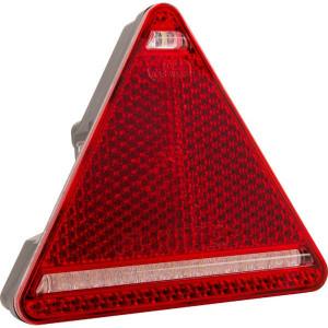 LED achterlicht 5-polig, rechts - LA40050 | 12/24 V | 1.85 m | 0,476 kg | EMC/E20 | Driehoekig | YLY-S 4 x 0,75mm2 | 5 pin (TYCO)