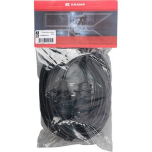 Kabel 7-pol stekker/bus 10 m - LA404112