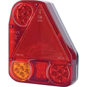 Gopart LED achterlicht, rechts - LA45003 | 12/24 V | 150 cm | 206 x 174 x 55 mm | Rechthoekig | 150 mm