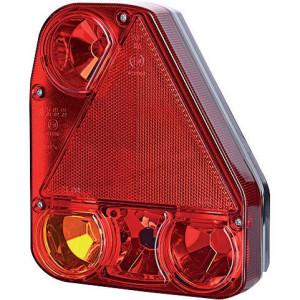 Gopart Achterlicht, rechts - LA45010 | 12/24 V | Gloeilamp | 206 x 174 x 54.5 mm | exclusief gloeilampen | Rechthoekig | 150 cm | 150 mm