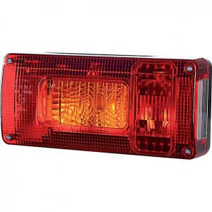 Gopart Achterlicht, links - LA45015 | 12/24 V | 5/21/21/5 W | Gloeilamp | 156 mm | 218 x 100 x 54,5 mm | 4,5 mm | Rechthoekig | exclusief gloeilampen