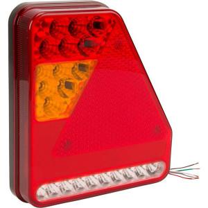 Gopart LED Achterlichtenset, UK-versie - LA45017L | 12/24 V | 208 x 188 x 40 mm | Rechthoekig