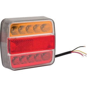Gopart LED achterlicht 12/24V - LA45043 | 12/24 V | Vierkant