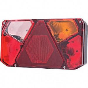 Gopart Achteruitrijlicht, rechts, EU - LA45055 | 12/24 V | Gloeilamp | Rechthoekig | exclusief gloeilampen | 242 x 134 x 58 mm
