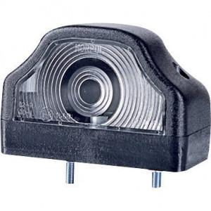 Gopart Kentekenlamp - LA46001   12/24 V   exclusief gloeilampen   4,5 mm   Gloeilamp   97 x 62 x 61,8 mm   Rechthoekig   5 W
