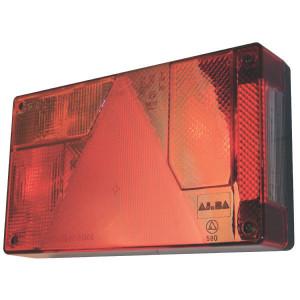 Ajba Achterlicht - LA63110 | Opbouw | 235 mm | 135 mm | 235x135x52 mm | 150 mm