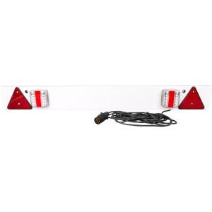 Gopart LED-balk 1220mm, 6m kabel - LA65017 | 12/24 V | met driehoeken | 1220 mm