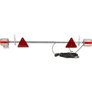 Gopart LED-balk 1100-1600mm, 7,5m kabel - LA65019 | 12/24 V | met driehoeken | 1100 1600 mm