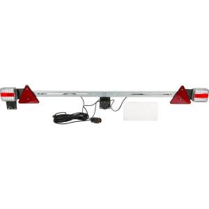 Gopart LED-balk 1400-2100mm, 7,5m kabel - LA65020 | 12/24 V | 1400 2100 mm